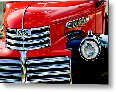 1942 Gmc  Pickup Truck Metal Print by Jill Reger