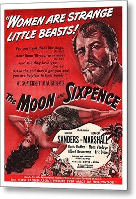 1942 The Moon And Sixpence Metal Print