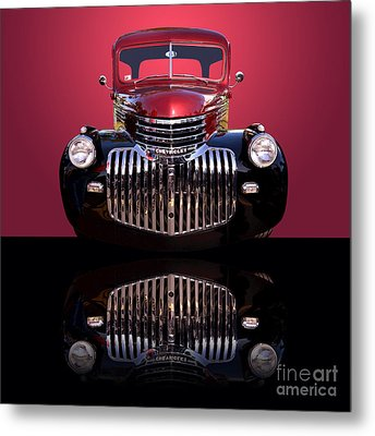 1946 Chevy Panel Truck Metal Print