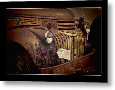 1946 Chevy Truck Metal Print by Ron Roberts