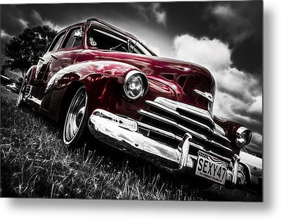 1947 Chevrolet Stylemaster Metal Print by motography aka Phil Clark