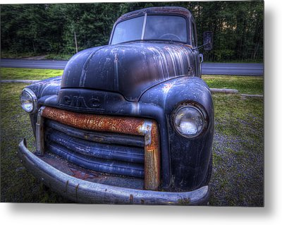 1947 Gmc Metal Print by Eric Gendron