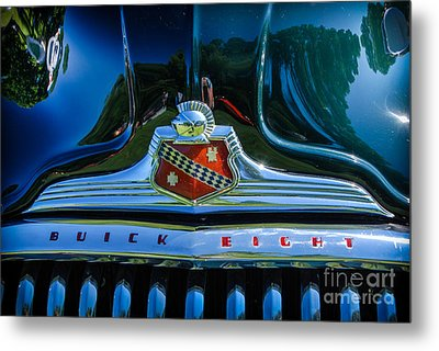 1947 Hood And Grill Metal Print