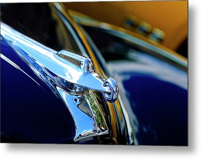 1947 Packard Hood Ornament 4 Metal Print