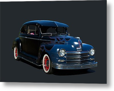Metal Print featuring the photograph 1947 Plymouth by Tim McCullough