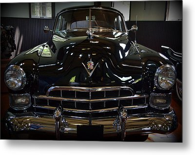 1948 Cadillac Front Metal Print by Michelle Calkins