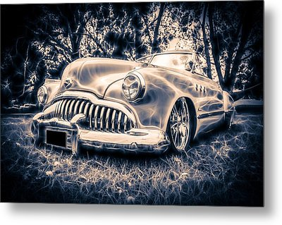 1949 Buick Eight Super Metal Print by motography aka Phil Clark