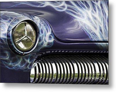 1949 Mercury Eight Hot Rod Metal Print