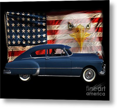 1949 Pontiac Tribute Roger Metal Print by Peter Piatt