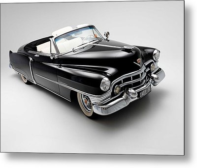 Metal Print featuring the photograph 1950 Cadillac Convertible by Gianfranco Weiss