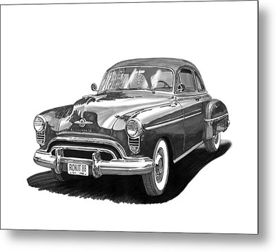 Oldsmobile Rocket 88 Metal Print