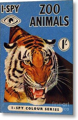 1950s Uk I-spy Book Cover Metal Print