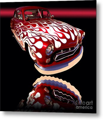 1951 Mercury Sedan Metal Print