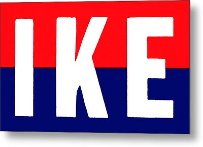 1952 Ike For President Metal Print by Historic Image