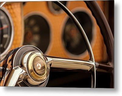 1952 Sterling Gladwin Maverick Sportster Steering Wheel Emblem -1848c Metal Print