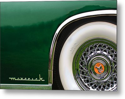 1952 Sterling Gladwin Maverick Sportster Wheel Emblem -0321c Metal Print