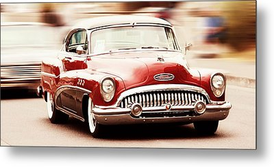 Classic Car Metal Print featuring the photograph 1953 Buick Super by Aaron Berg
