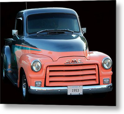 1953 Gmc Pick-up Metal Print