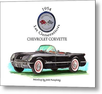 Corvette First Generation Metal Print by Jack Pumphrey