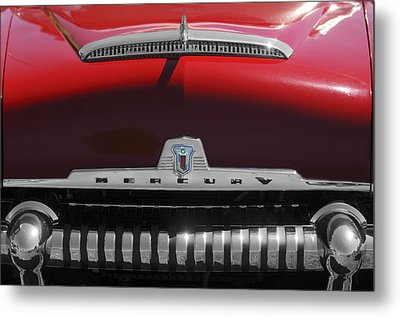 1954 Mercury Monterey Hood Ornament Metal Print