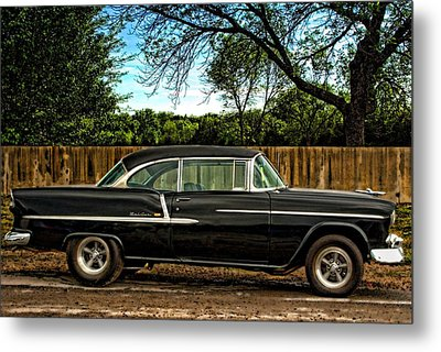Metal Print featuring the photograph 1955 Chevrolet Belair by Tim McCullough
