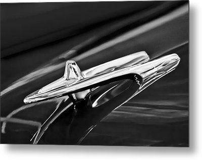 1955 Desoto Hood Ornament 4 Metal Print