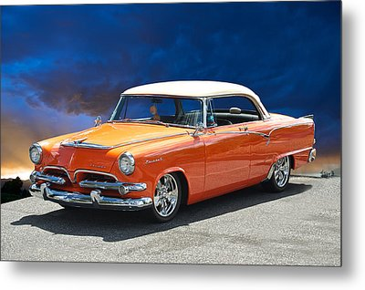 1955 Dodge Coronet Metal Print by Dave Koontz