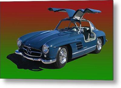 1955 Mercedes Benz 300 S L  Metal Print