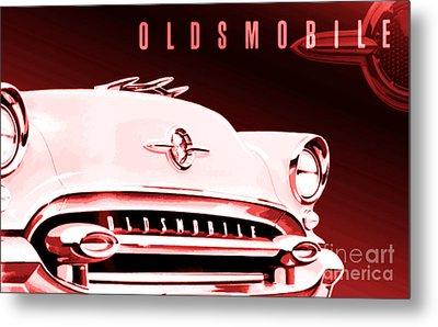 1955 Oldsmobile Ninety-eight Metal Print
