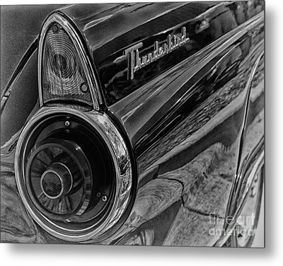 1955 Thunderbird Metal Print by JRP Photography