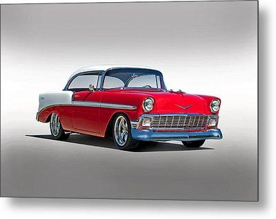 1956 Chevrolet Bel Air Studio Metal Print by Dave Koontz