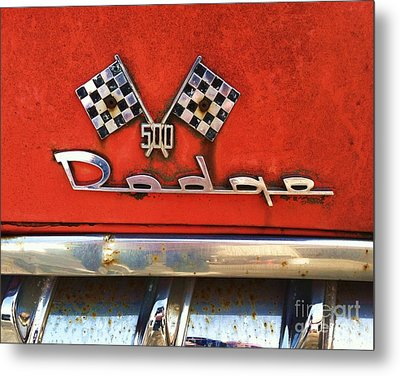 1956 Dodge 500 Series Photo 8b Metal Print