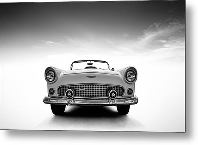 1956 Thunderbird Metal Print by Douglas Pittman