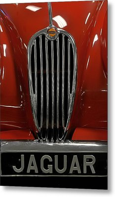 1957 Jaguar Xk 140 Mc Metal Print by Keith Gondron