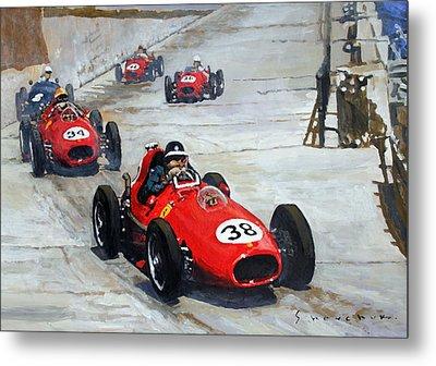 1958 Monaco Gp  Metal Print by Yuriy Shevchuk