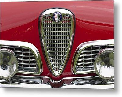 1959 Alfa Romeo Giulietta Sprint Grille Metal Print by Jill Reger