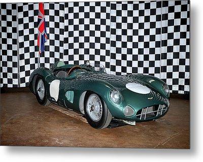 1959 Aston Martin Dbr1 Metal Print by Boris Mordukhayev
