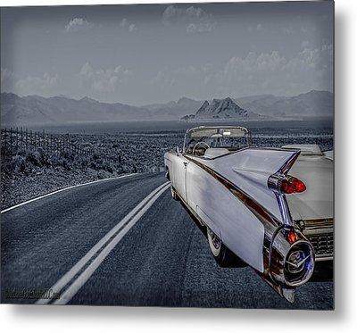 1959 Cadillac Eldorado Cool Night Metal Print