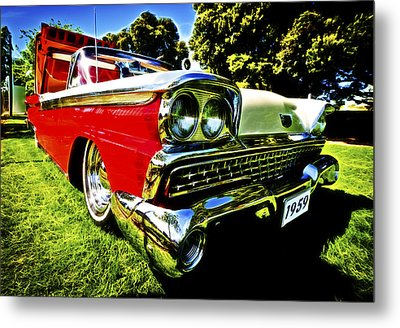 1959 Ford Fairlane 500 Skyliner Metal Print