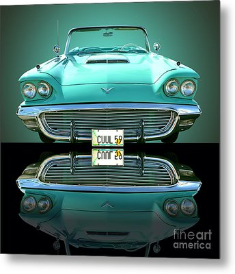 1959 Ford T Bird Metal Print