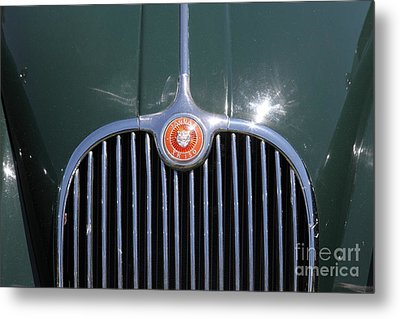 1959 Jaguar Xk150 Dhc 5d23300 Metal Print by Wingsdomain Art and Photography