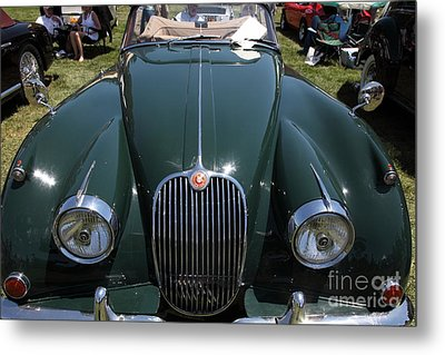 1959 Jaguar Xk150 Dhc 5d23302 Metal Print by Wingsdomain Art and Photography