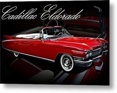 1960 Cadillac Convertible El Dorado  Metal Print