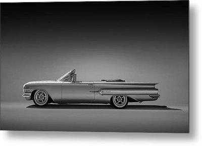 1960 Impala Convertible Coupe Metal Print by Douglas Pittman