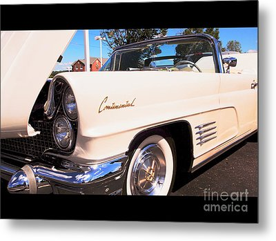 1960 Lincoln Continental Convertible Metal Print