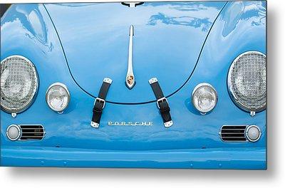 1960 Volkswagen Porsche 356 Carrera Gs Gt Replica  Metal Print by Jill Reger
