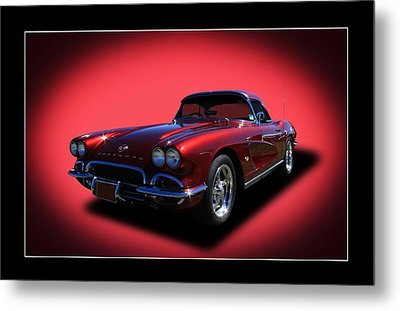 Metal Print featuring the photograph 1962 Corvette by Keith Hawley