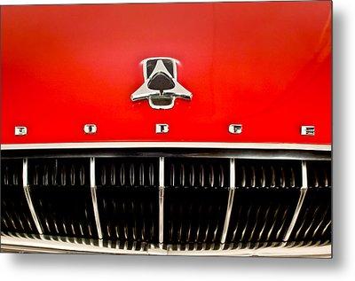 1962 Dodge Polara 500 Emblem Metal Print by Jill Reger