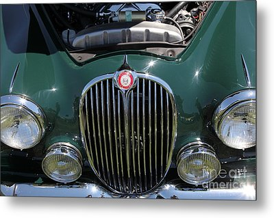 1962 Jaguar Mark II 5d23327 Metal Print by Wingsdomain Art and Photography