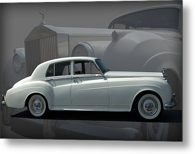 Metal Print featuring the photograph 1962 Rolls Royce Silver Cloud by Tim McCullough